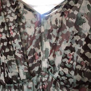 BCBGMaxAzria Dresses - BCBG summer silk dress